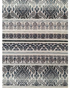 Brando Gobelin matto, musta, 160x235 cm