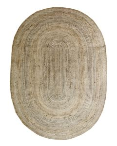 Soikea hamppu-juutti matto, eri kokoja