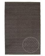 Musta helppohoitoinen Louhi-matto, saatavilla eri kokoja