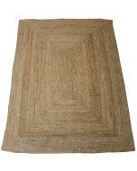 Sommar hamppu-juutti matto, eri kokoja